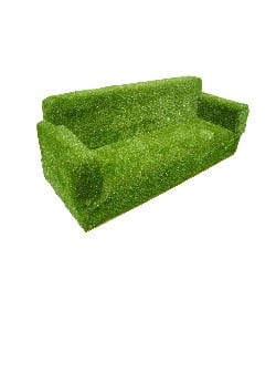 TIM-00011 - Grass Seating - Sofa-100