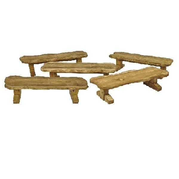 TIM-00024 Rustic Benches