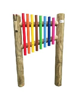 TIM-00018 - Outdoor Chimes Multicoloured-100