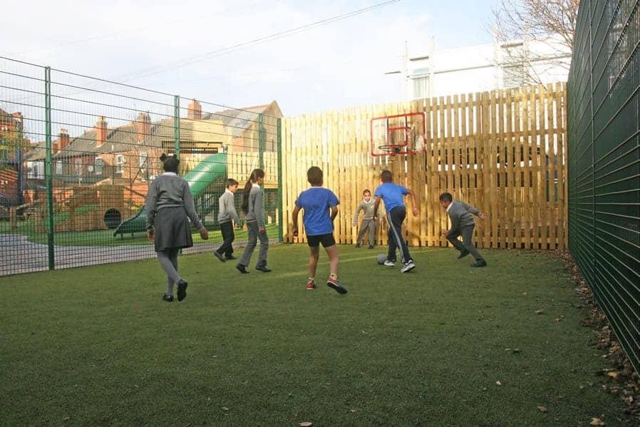 MUGA pitch for schools