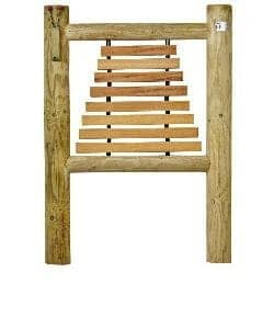 Hardwood Timber Horizontal Xylophone