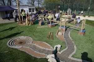 Waterplay, Cherry Lane, Playground