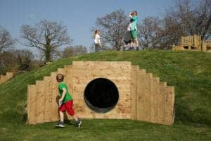 Tunnel, Cave, Country Park, Natural Play