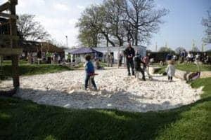 Sand pit, Sand Play, Playground