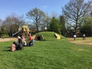 Tunnel, Mound, Playground, Country Park