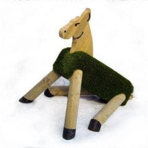 Grass Seating – Sitting Pony