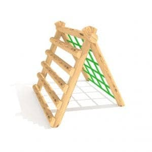A Frame Climber – Net and Horizontal Planks