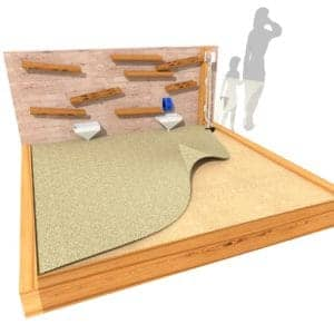 Sandwall and Sandpit