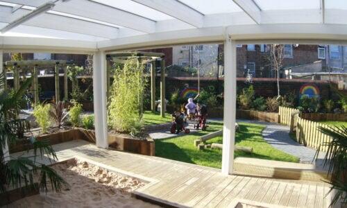 KS1 outdoor classroom