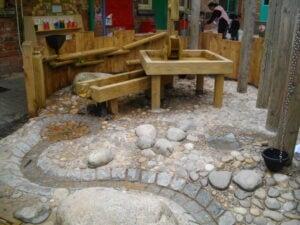 Natural waterplay