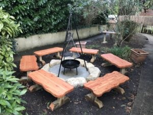 Fire pit primary school