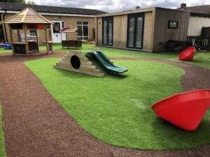 preschool nursery transformation