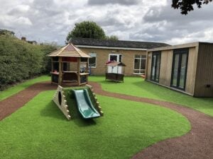 preschool playground transformation