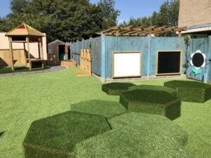 Infant school grass wrap