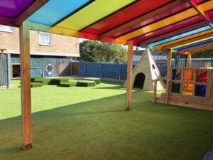 Infant school tepee