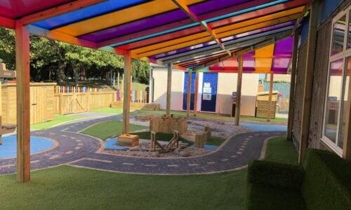 Infant school canopy