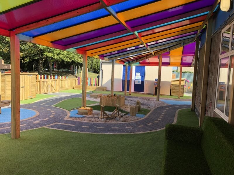 Infant school canopy