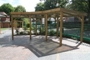 Playground shelter