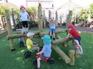 preschool climbing