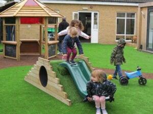 nursery playground slide
