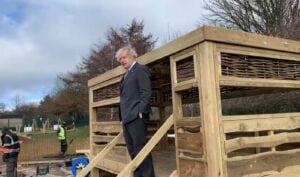 Boris visit to St Mary's