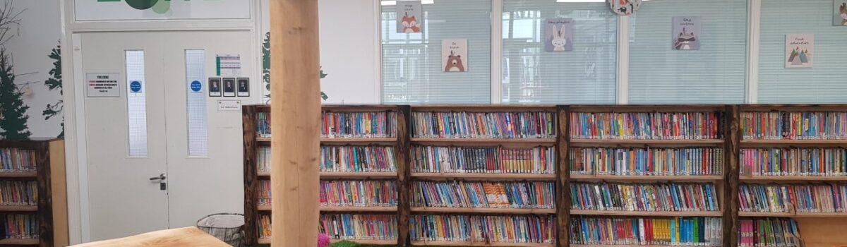 Indoor Woodland School Library
